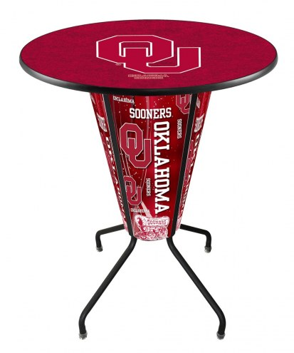 Oklahoma Sooners Indoor/Outdoor Lighted Pub Table