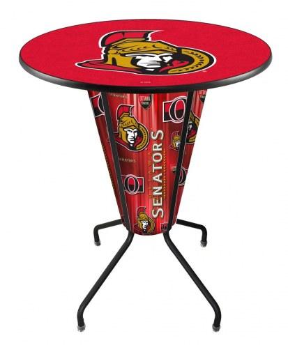 Ottawa Senators Indoor Lighted Pub Table