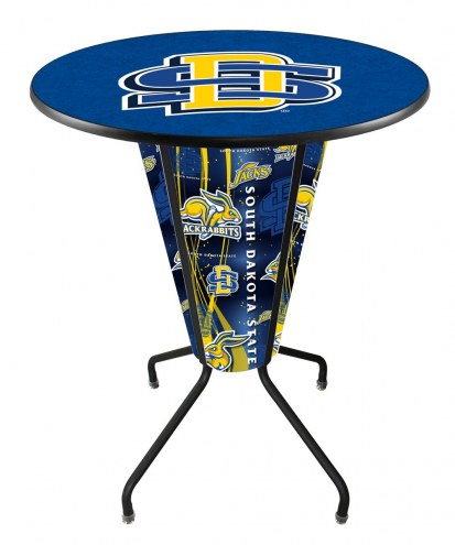 South Dakota State Jackrabbits Indoor/Outdoor Lighted Pub Table