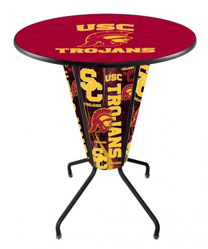 USC Trojans Indoor/Outdoor Lighted Pub Table
