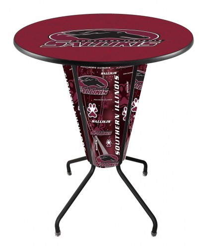 Southern Illinois Salukis Indoor/Outdoor Lighted Pub Table