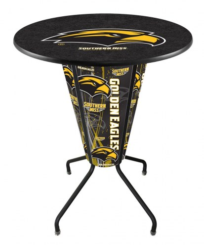 Southern Mississippi Golden Eagles Indoor/Outdoor Lighted Pub Table