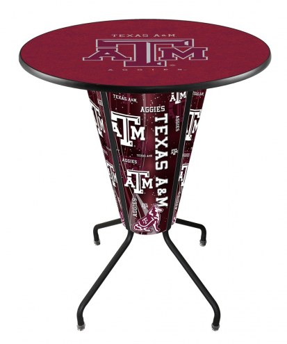 Texas A&M Aggies Indoor/Outdoor Lighted Pub Table
