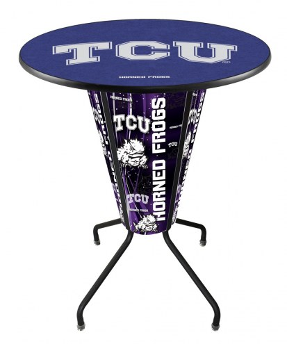 Texas Christian Horned Frogs Indoor/Outdoor Lighted Pub Table
