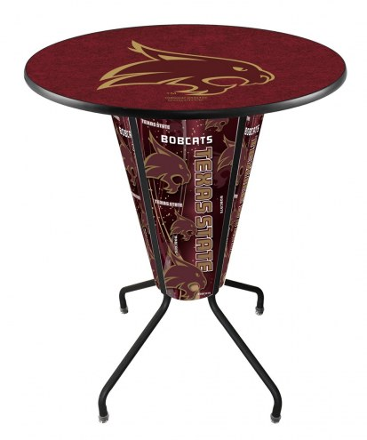 Texas State Bobcats Indoor Lighted Pub Table