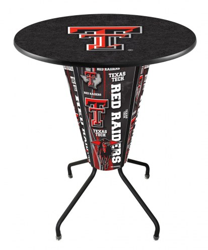 Texas Tech Red Raiders Indoor/Outdoor Lighted Pub Table