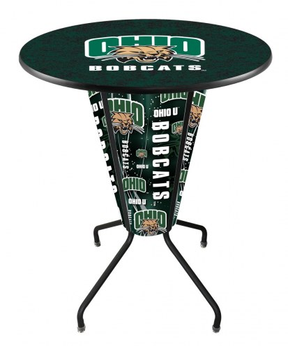 Ohio Bobcats Indoor Lighted Pub Table