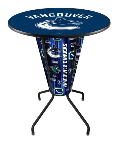 Vancouver Canucks Indoor Lighted Pub Table
