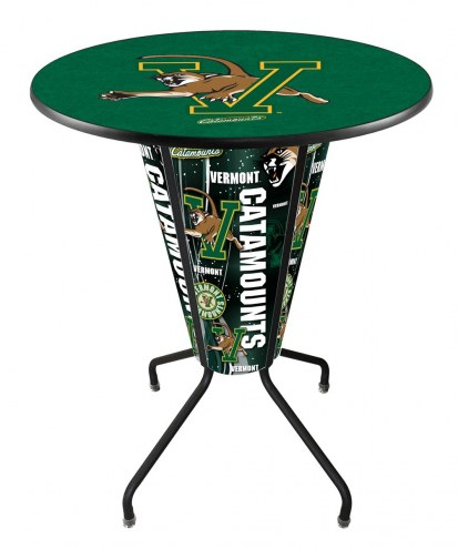 Vermont Catamounts Indoor Lighted Pub Table