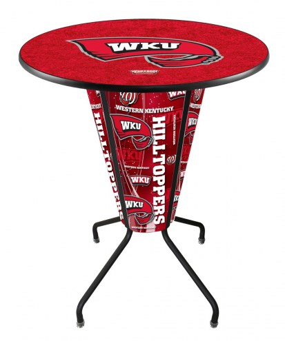 Western Kentucky Hilltoppers Indoor/Outdoor Lighted Pub Table