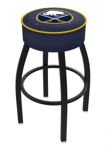 Buffalo Sabres Black Base Swivel Bar Stool