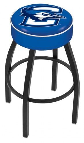 Creighton Bluejays Black Base Swivel Bar Stool