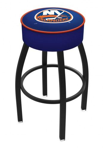 New York Islanders Black Base Swivel Bar Stool