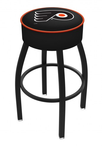 Philadelphia Flyers Black Base Swivel Bar Stool