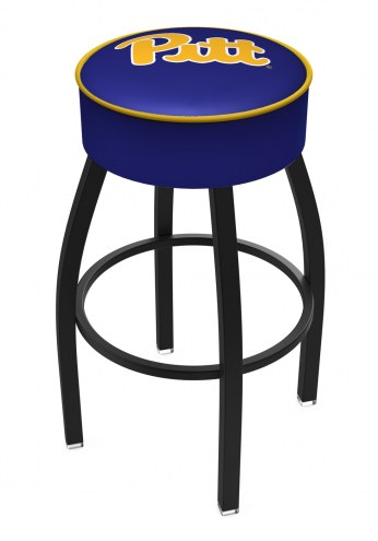 Pittsburgh Panthers Black Base Swivel Bar Stool