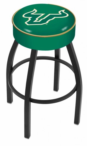 South Florida Bulls Black Base Swivel Bar Stool