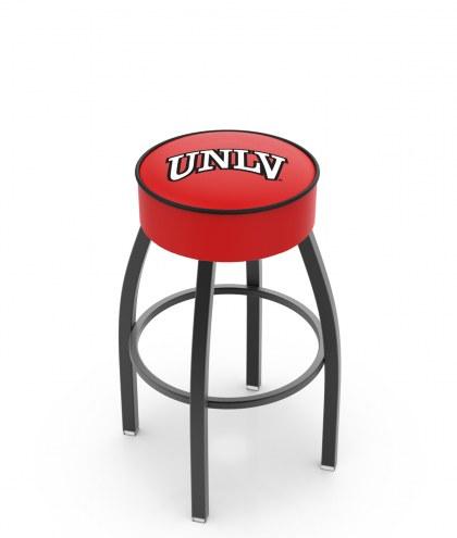 UNLV Rebels Black Base Swivel Bar Stool