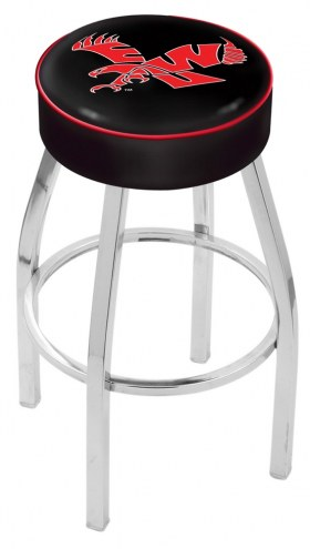 "Eastern Washington Eagles 4"" Cushion Seat with Chrome Base Swivel Barstool"