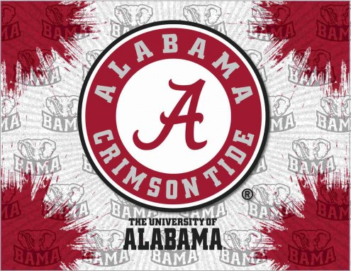 Alabama Crimson Tide Logo Canvas Print