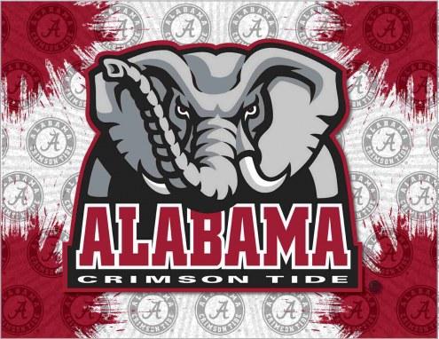 Alabama Crimson Tide Logo Canvas Print