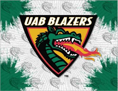 UAB Blazers Logo Canvas Print