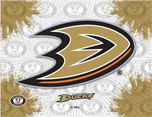 Anaheim Ducks Logo Canvas Print