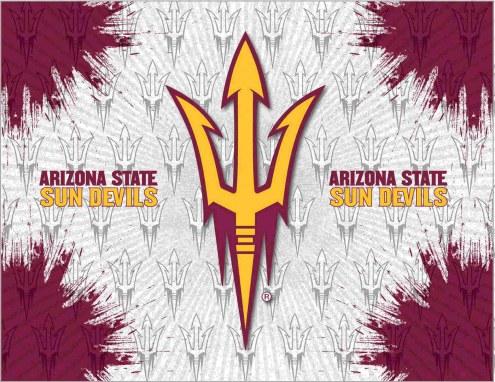 Arizona State Sun Devils Logo Canvas Print