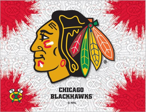 Chicago Blackhawks Logo Canvas Print