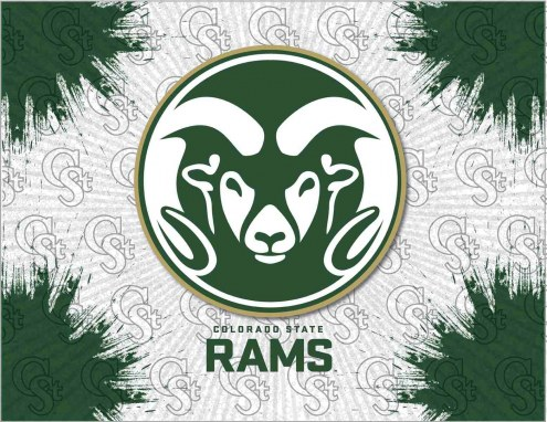 Colorado State Rams Logo Canvas Print