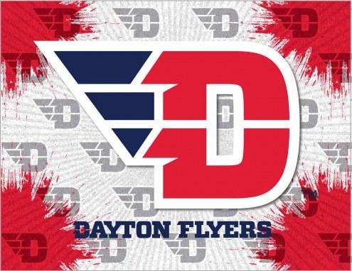 Dayton Flyers Logo Canvas Print