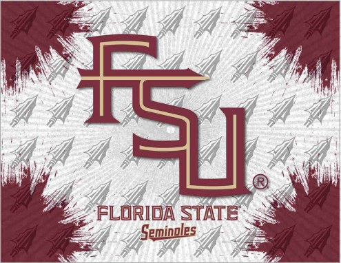 Florida State Seminoles Logo Canvas Print