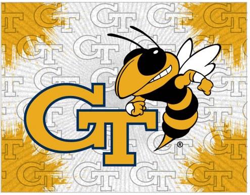 Georgia Tech Yellow Jackets Logo Canvas Print