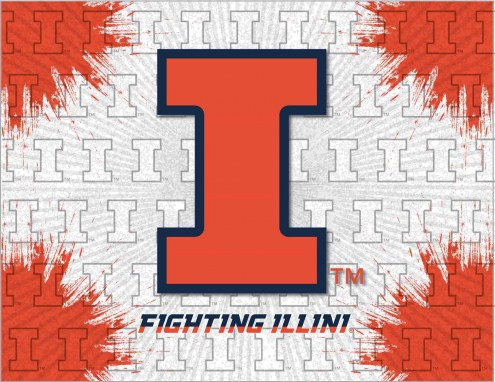 Illinois Fighting Illini Logo Canvas Print