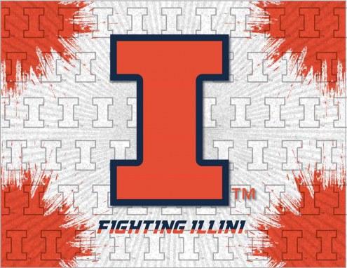 Illinois Fighting Illini Logo Canvas Print