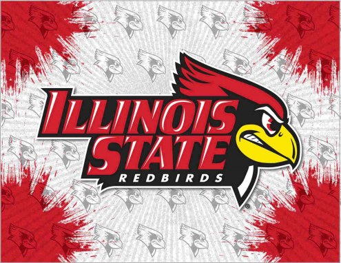 Illinois State Redbirds Logo Canvas Print