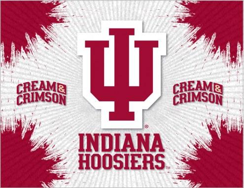 Indiana Hoosiers Logo Canvas Print