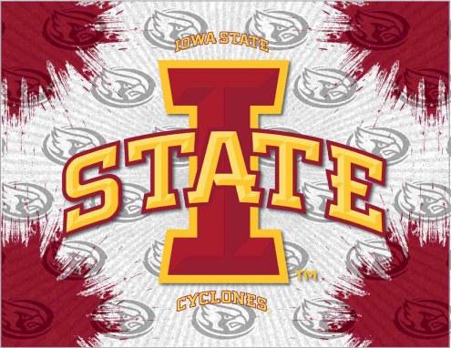 Iowa State Cyclones Logo Canvas Print