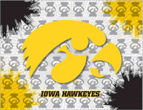 Iowa Hawkeyes Logo Canvas Print