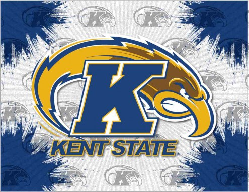 Kent State Golden Flashes Logo Canvas Print