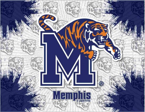 Memphis Tigers Logo Canvas Print