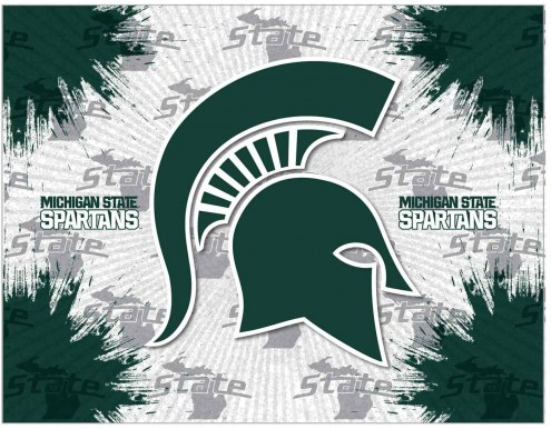 Michigan State Spartans Logo Canvas Print