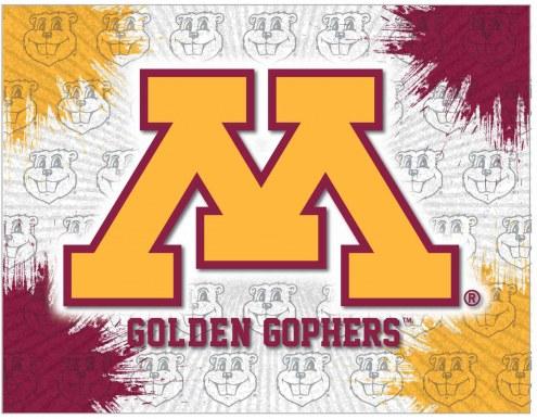 Minnesota Golden Gophers Logo Canvas Print