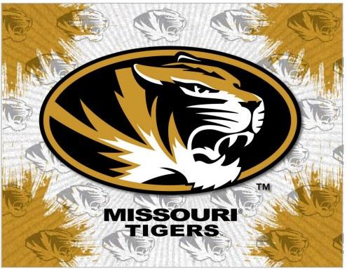 Missouri Tigers Logo Canvas Print