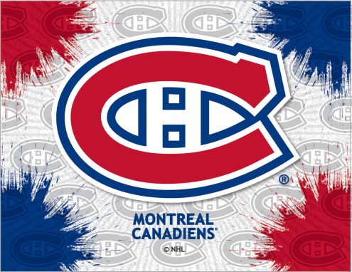 Montreal Canadiens Logo Canvas Print