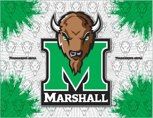 Marshall Thundering Herd Logo Canvas Print