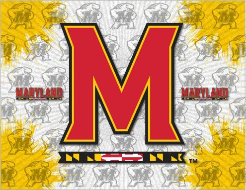 Maryland Terrapins Logo Canvas Print