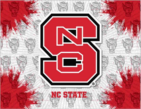 North Carolina State Wolfpack Logo Canvas Print