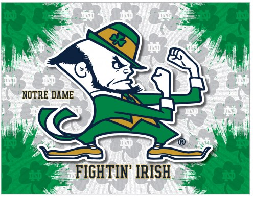 Notre Dame Fighting Irish Logo Canvas Print