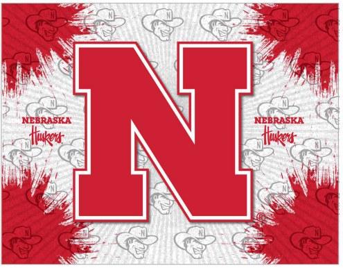 Nebraska Cornhuskers Logo Canvas Print
