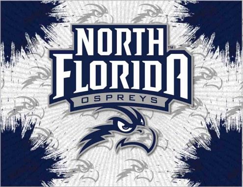 North Florida Ospreys Logo Canvas Print